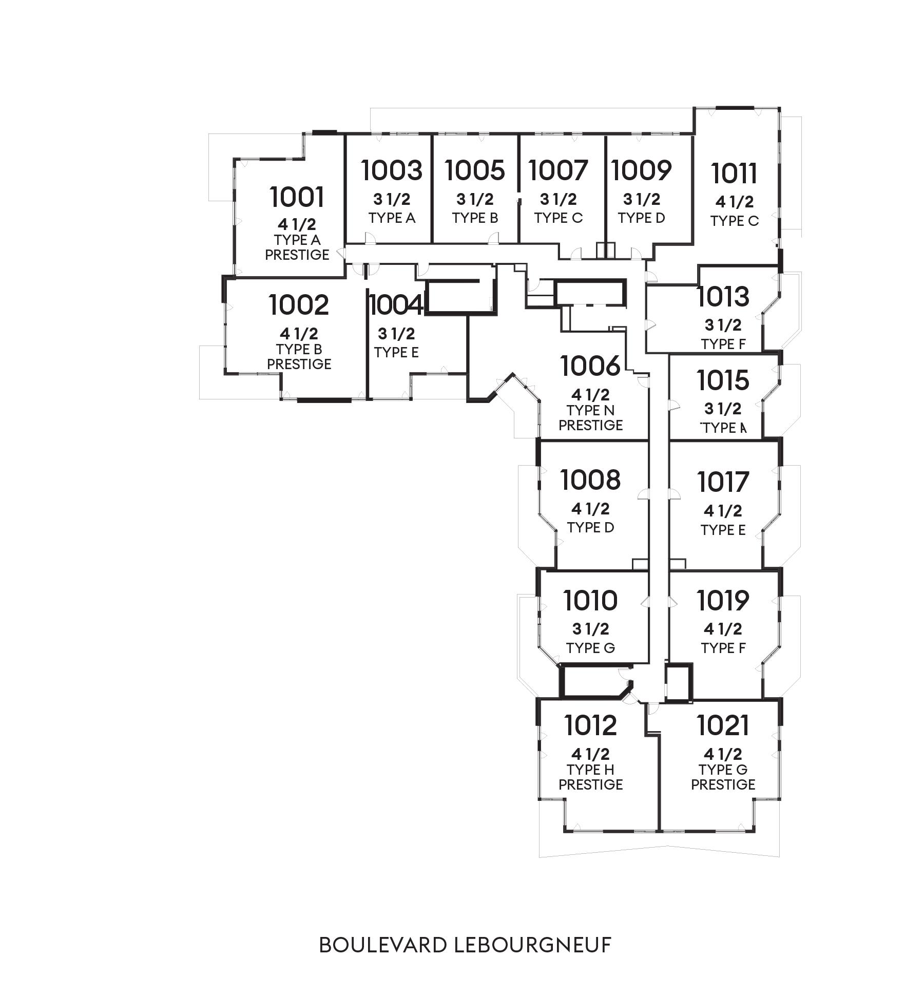 Le Huppé - 10e étage